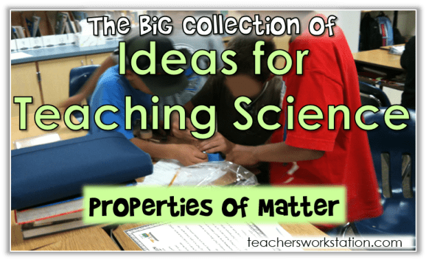 ideas for teaching science cover 5th properties feature