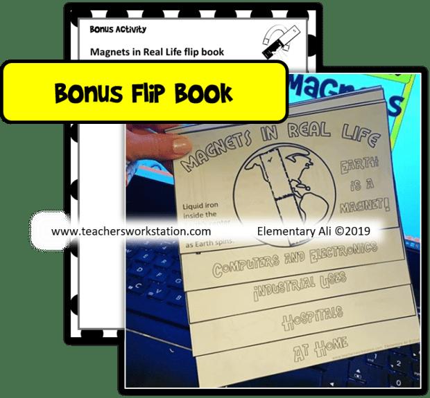 magnet bonus flip book