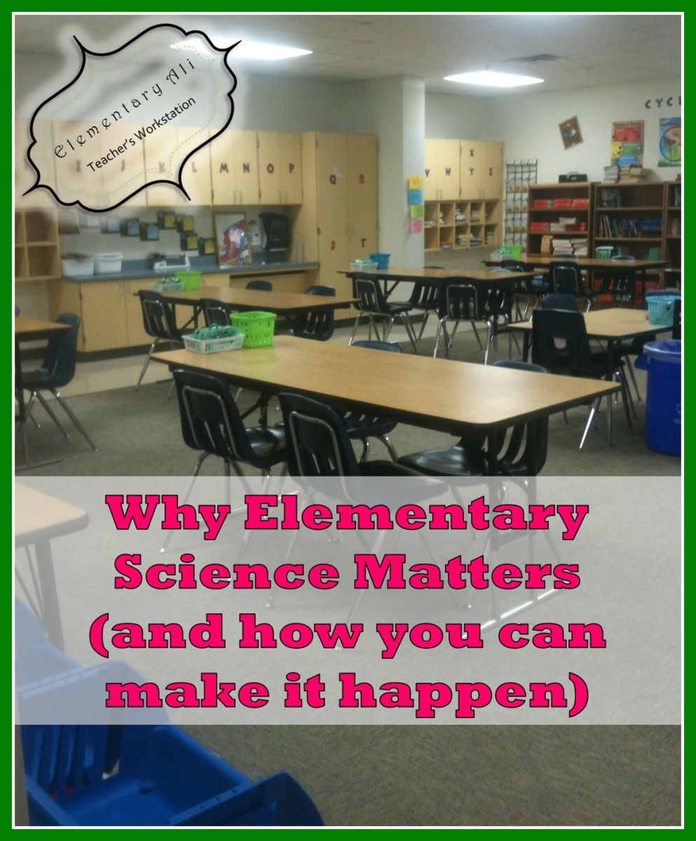 Elementary Science Matters And Make
