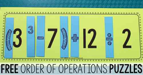 small resolution of Teaching Order of Operations • Teaching Order of Operations