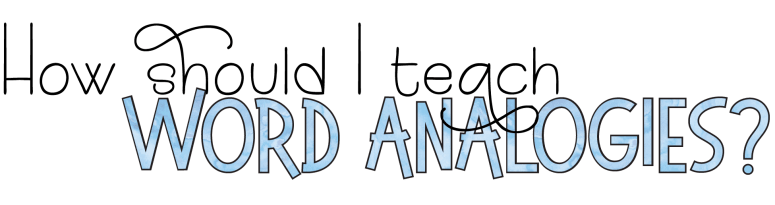 Build Vocabulary with Word Analogies