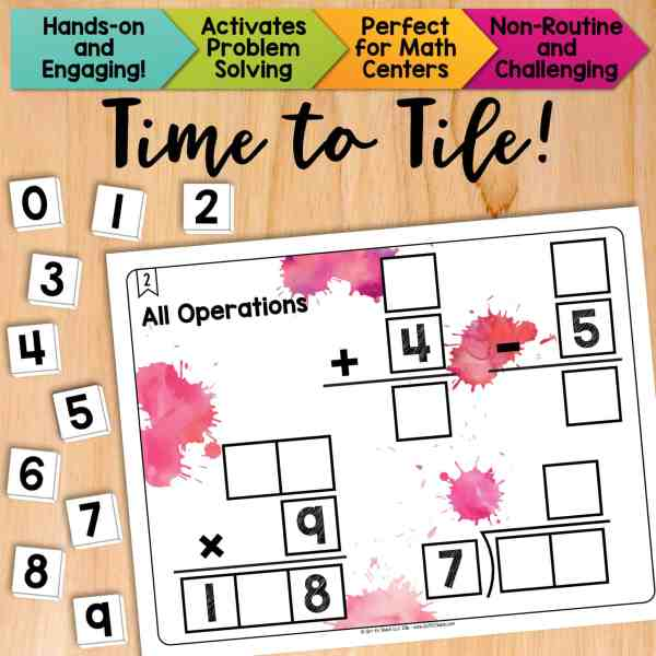 All Operations (Add, Subtract, Multiply & Divide)