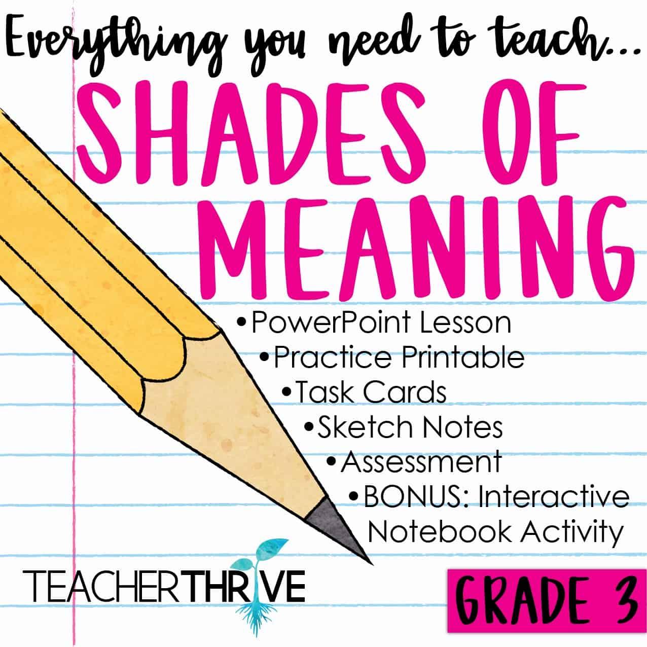 hight resolution of Third Grade Grammar Bundle • Teacher Thrive