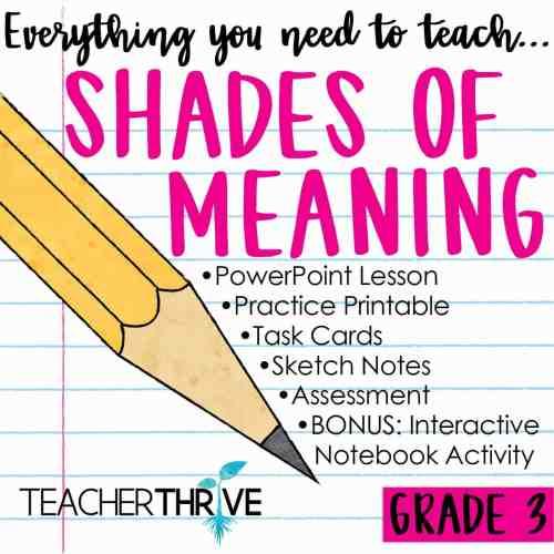 small resolution of Third Grade Grammar Bundle • Teacher Thrive