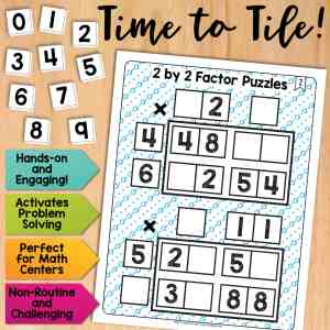 2 by 2 Factor Puzzles