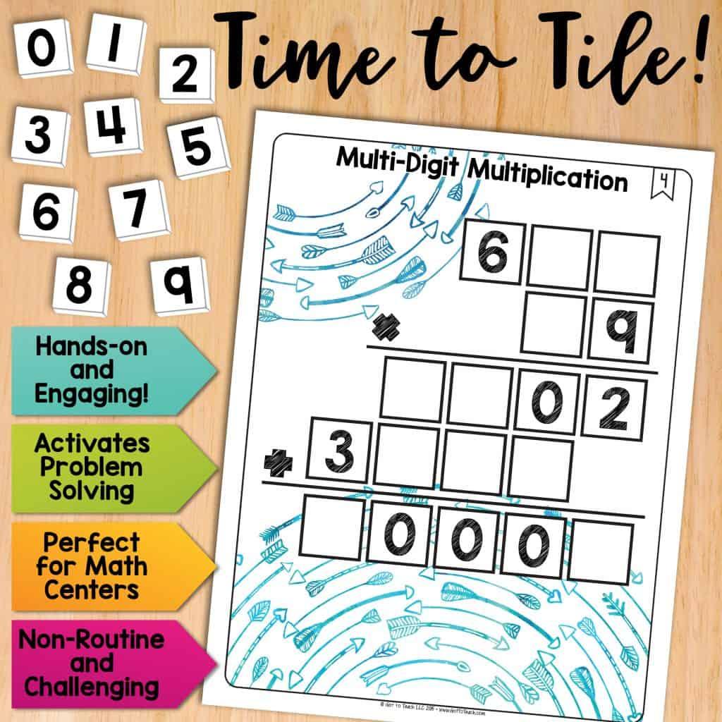 Math Tiles Multi Digit Multiplication Teacher Thrive
