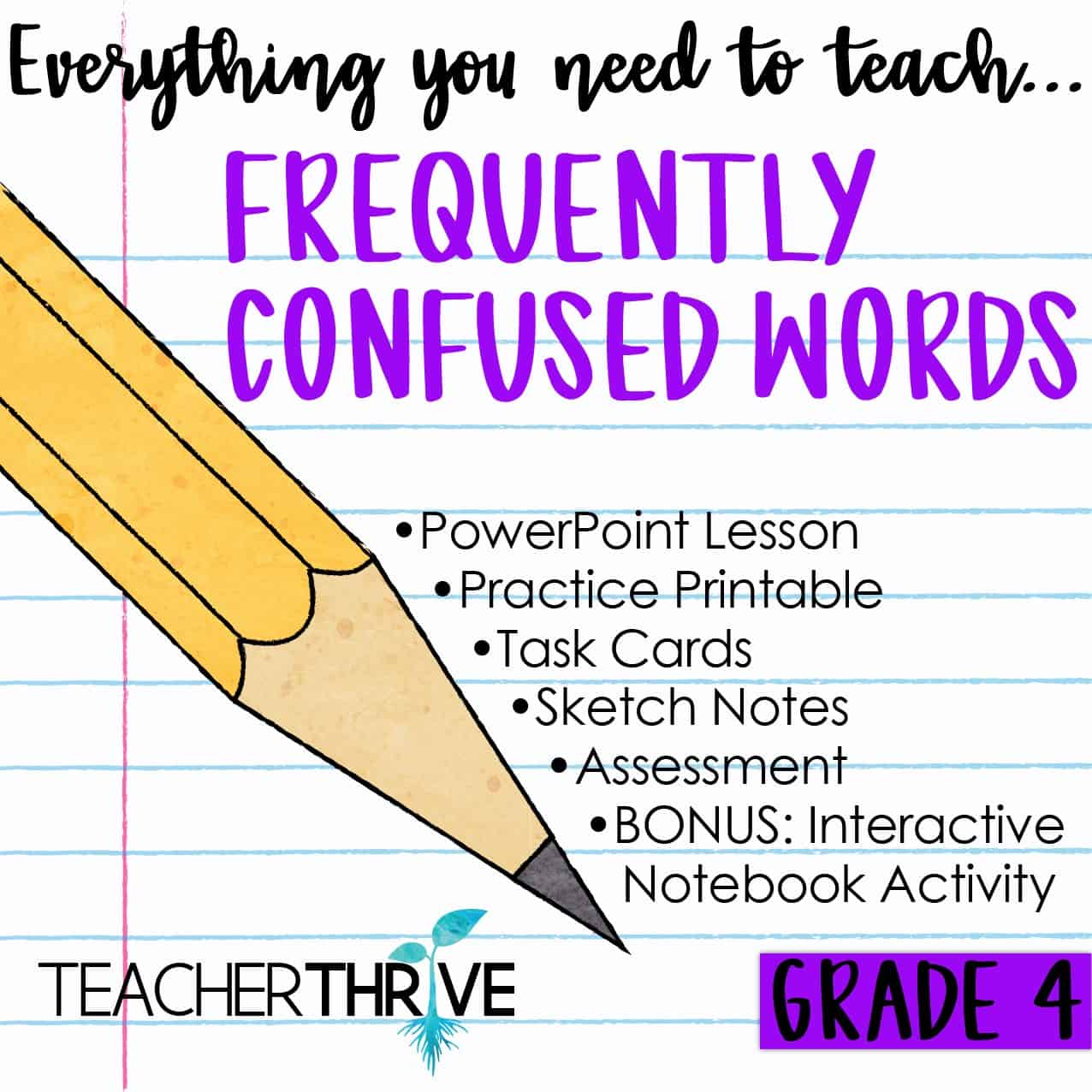 hight resolution of Fourth Grade Grammar Bundle • Teacher Thrive
