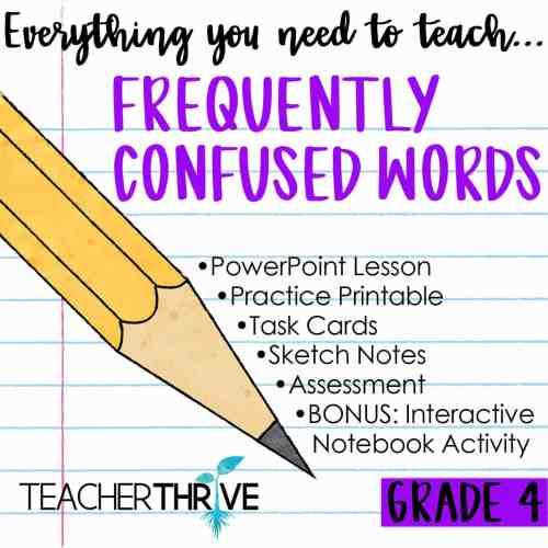 small resolution of Fourth Grade Grammar Bundle • Teacher Thrive