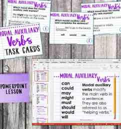 Fourth Grade Grammar: Modal Auxiliary Verbs (Helping Verbs) • Teacher Thrive [ 1275 x 1276 Pixel ]