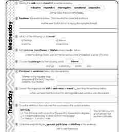 8th Grade Daily Language Spiral Review • Teacher Thrive [ 2048 x 1583 Pixel ]