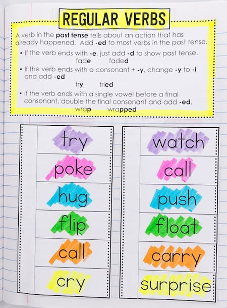 grammar interactive notebooks