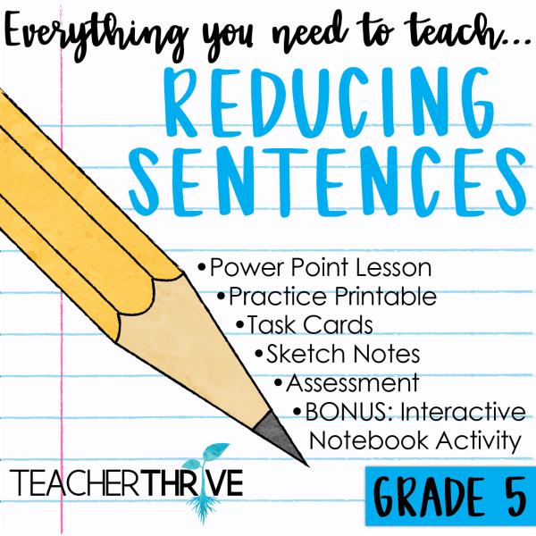 Reduce Sentences