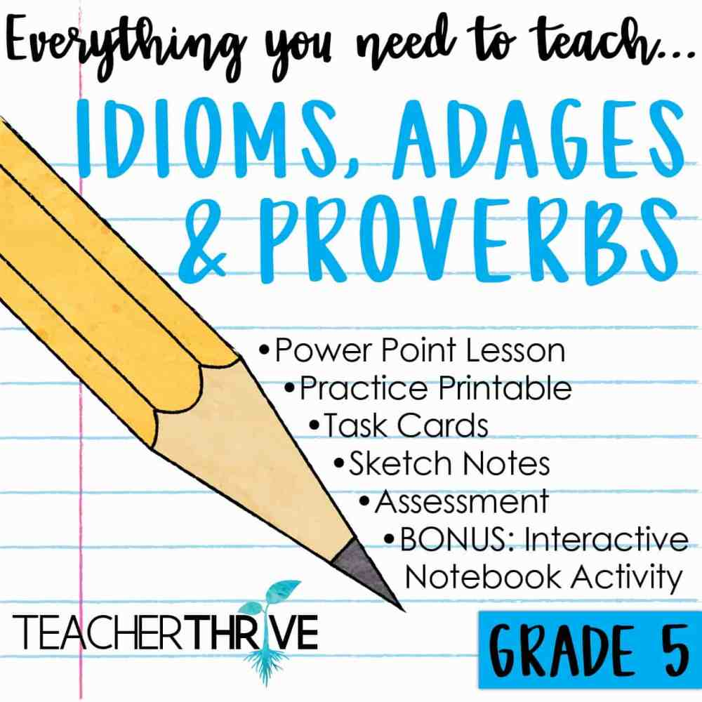 medium resolution of Proverbs And Adages Worksheet   Printable Worksheets and Activities for  Teachers