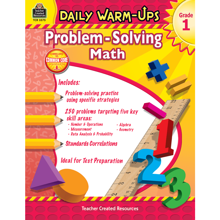 medium resolution of TeacherToolsInc.com-Daily Warm-Ups Problem Solving Math Grade 1