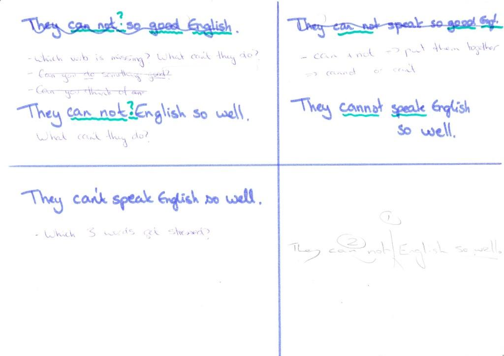 trainee whiteboard plan