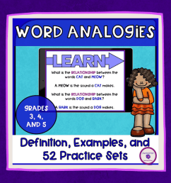 My Students Never Understood Word Analogies (Until I Did This)    TeacherWriter [ 1024 x 1024 Pixel ]