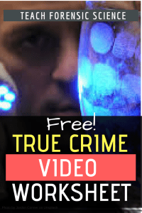 Free True Crime Video Worksheet