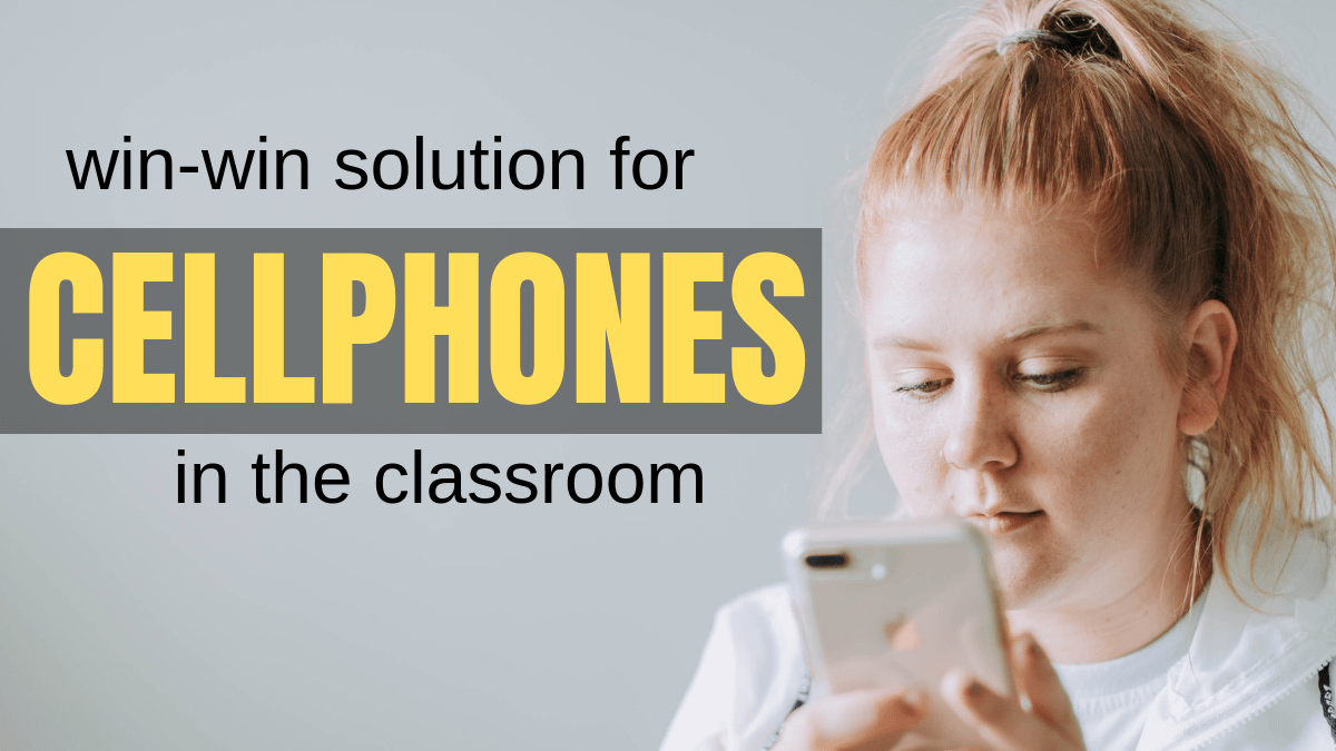 Cellphones In The Classroom? Not a Problem Anymore!
