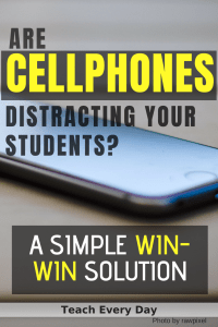 Are cellphones distracting your students?