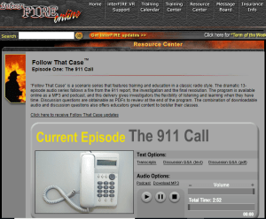 One of the best online forensic activities: arson investigation audio story
