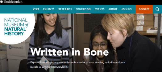 Teach forensic anthropology with real cases