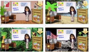 classroom bitmoji google slides virtual walls maybe backgrounds classrooms interactive screen settle rainforest moon why want
