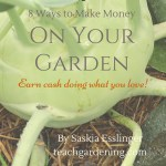 8 ways to make money on your garden