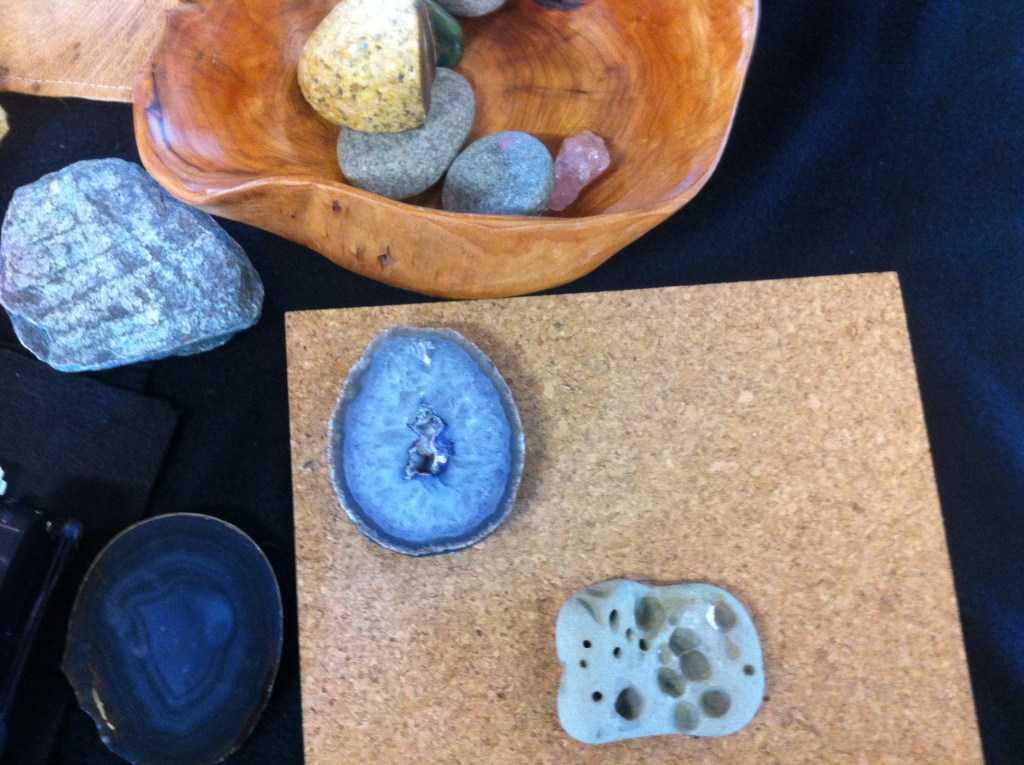 Taking a closer look at geodes.