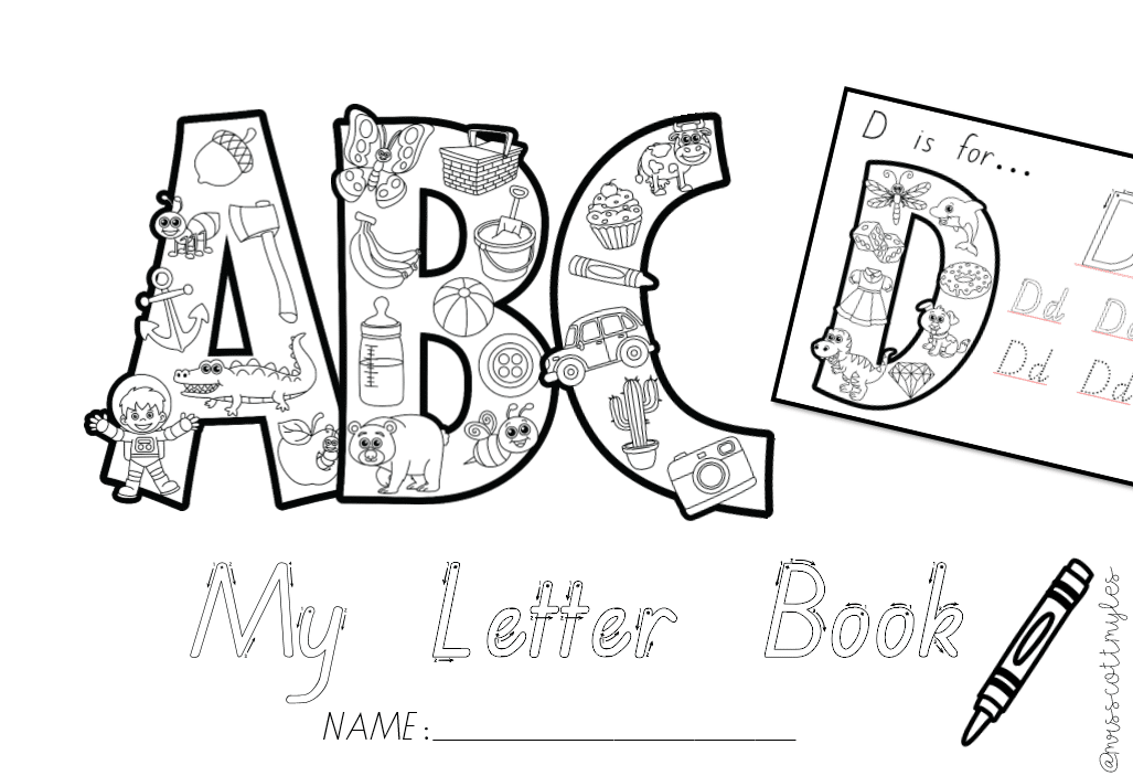 Alphabet and Phonics Letter Book — Teachie Tings