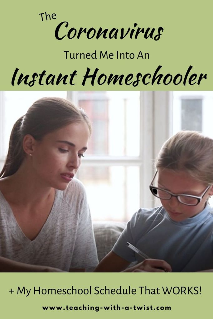 Once I got my unexpected homeschool routine established, I'm actually loving my new role as a homeschooler.