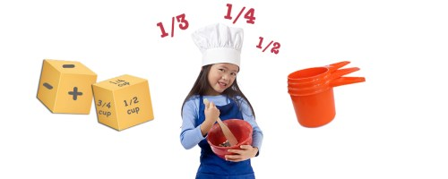 Fun Learning Game with Measuring Cups