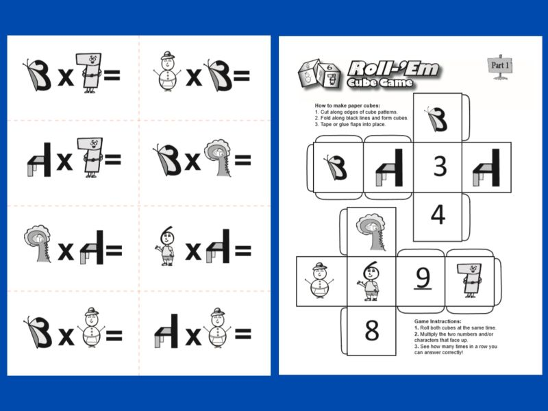 Times Tales Multiplication Printables