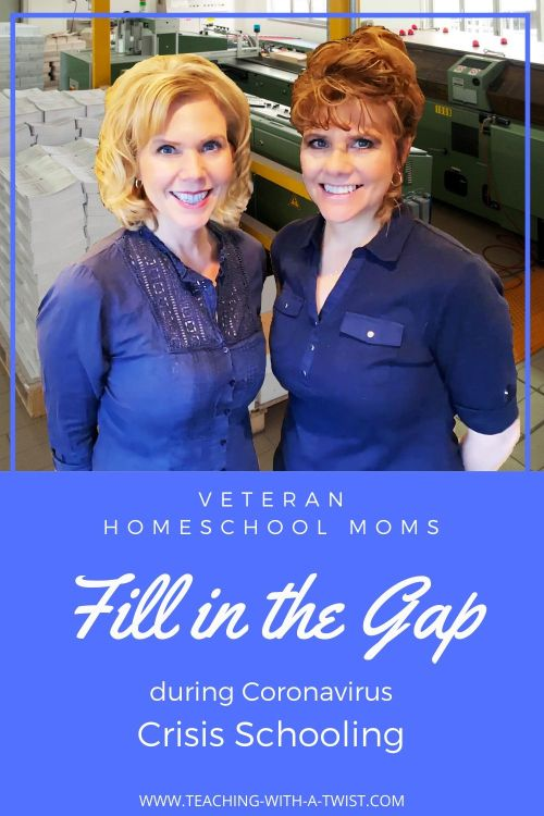 Social distancing has turned many parents into instant homeschoolers. Two veteran homeschool moms help fill in the gap with their out-of-the-box learning products.