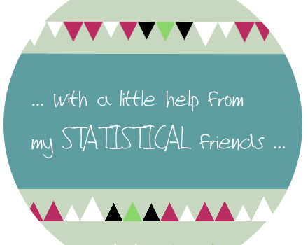 Make awesome statistical friends …