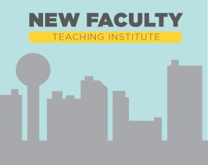 A decorative graphic for the New Faculty Teaching Institute
