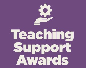 Teaching Support Awards graphic