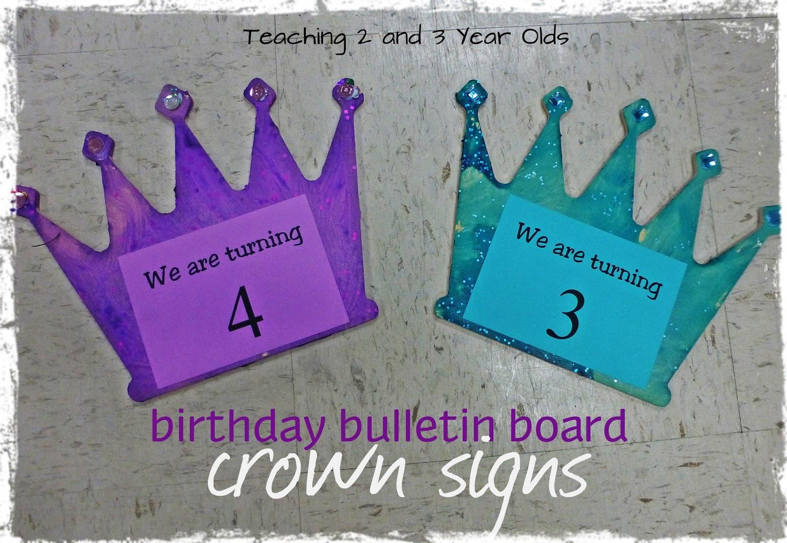 Preschool Birthday Bulletin Boards