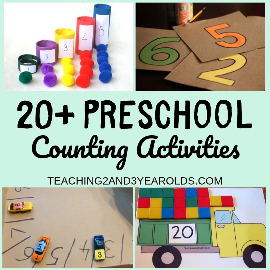 20 Preschool Counting Activities For School And Home
