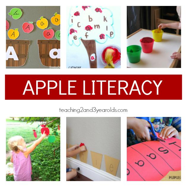 Fun Preschool Apple Theme Activities