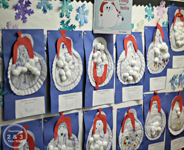 winter art and craft ideas for preschoolers