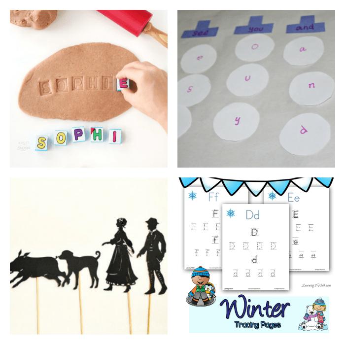 17 Hands On Winter Literacy Activities
