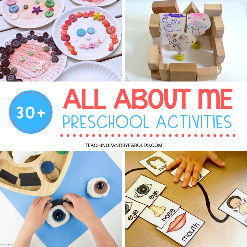 30 All About Me Theme Activities For Preschoolers