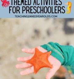 Hands-On Toddler and Preschool Ocean Activities [ 1500 x 1000 Pixel ]