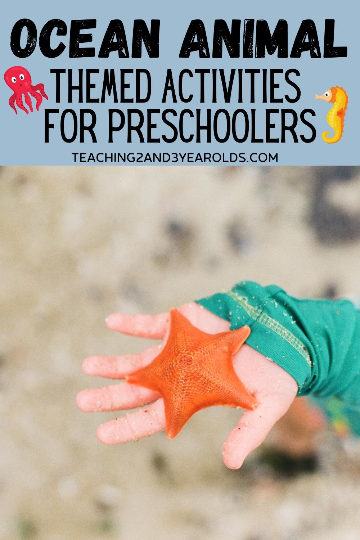 hight resolution of Hands-On Toddler and Preschool Ocean Activities