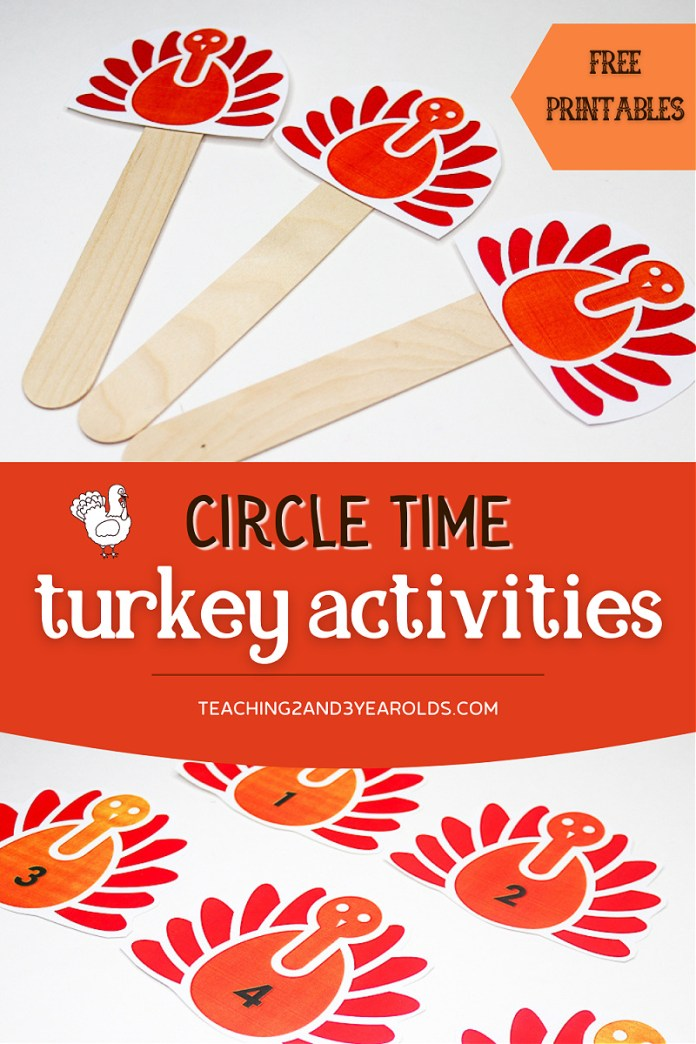 Preschool Thanksgiving Circle Time Activity