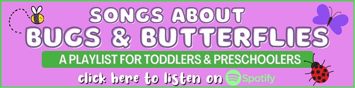 preschool bugs and butterflies songs