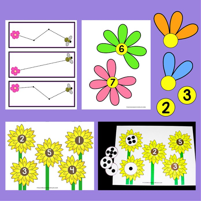 Toddler and Preschool Spring Learning Activities Packet