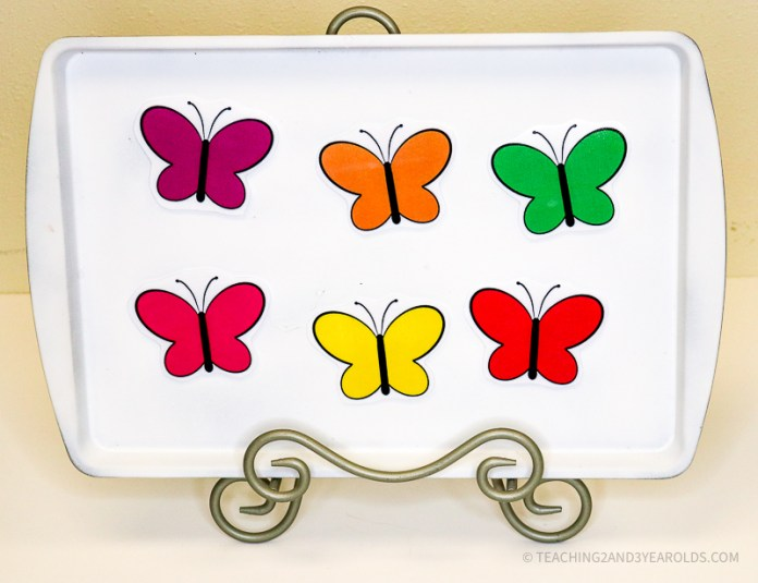 Printable Butterfly Circle Time Activity Props