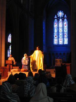 Bryn Athyn Cathedral Tableaux 2013