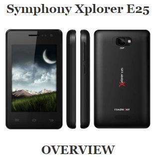 Symphony Xplorer E25